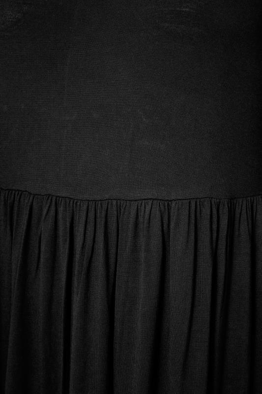 Black Balloon Sleeve Midaxi Dress_S.jpg