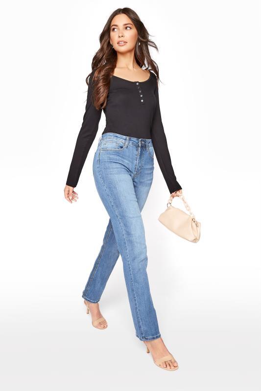 Tall  Pacific Blue Straight Leg Jeans