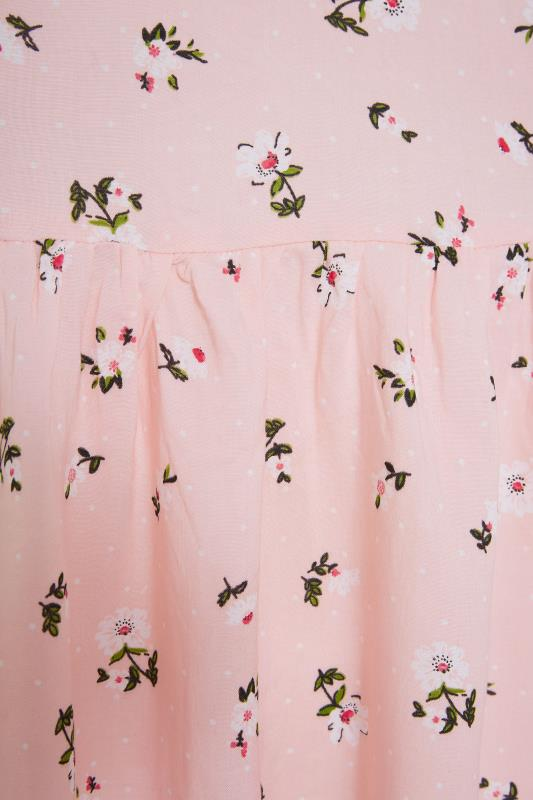 Pink Ditsy Floral Strappy Dress_S.jpg
