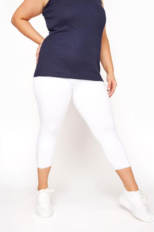 White Cotton Essential Cropped Leggings_D.jpg