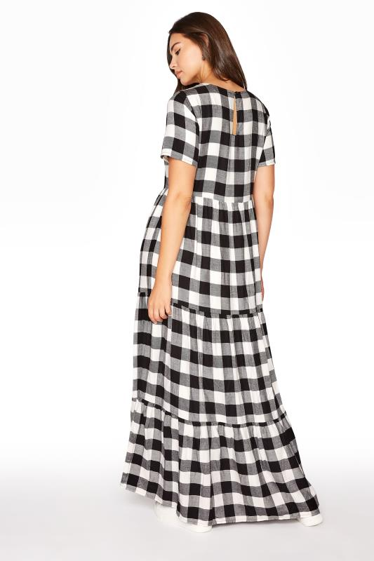 LTS Black Check Tiered Midaxi Dress_C.jpg