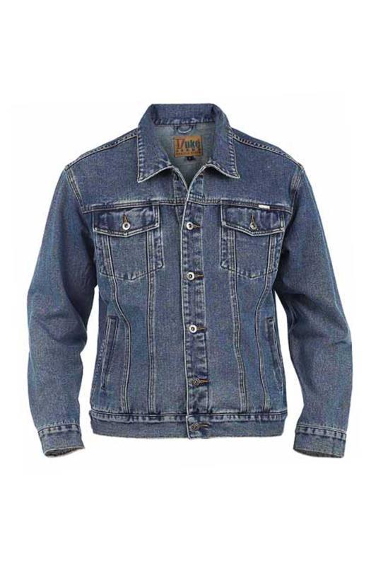 Men's  D555 Blue Denim Jacket
