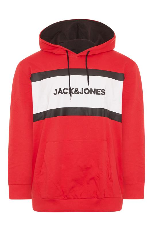 Men's  JACK & JONES Red Shake Hoodie