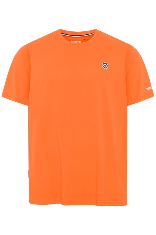 Plus Size  LAMBRETTA Orange Logo T-Shirt