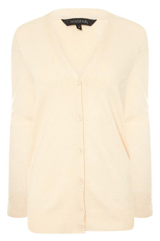 Beige Buttoned Knitted Cardigan_F.jpg