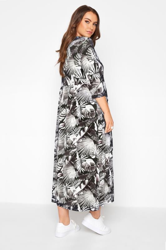 Black Leaf Print Midaxi Dress_C.jpg