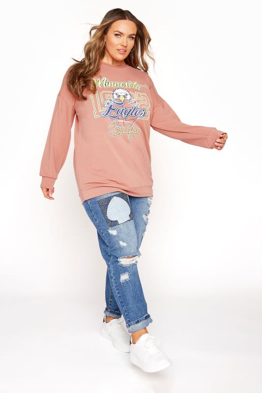 LIMITED COLLECTION Pink Eagles Sweatshirt