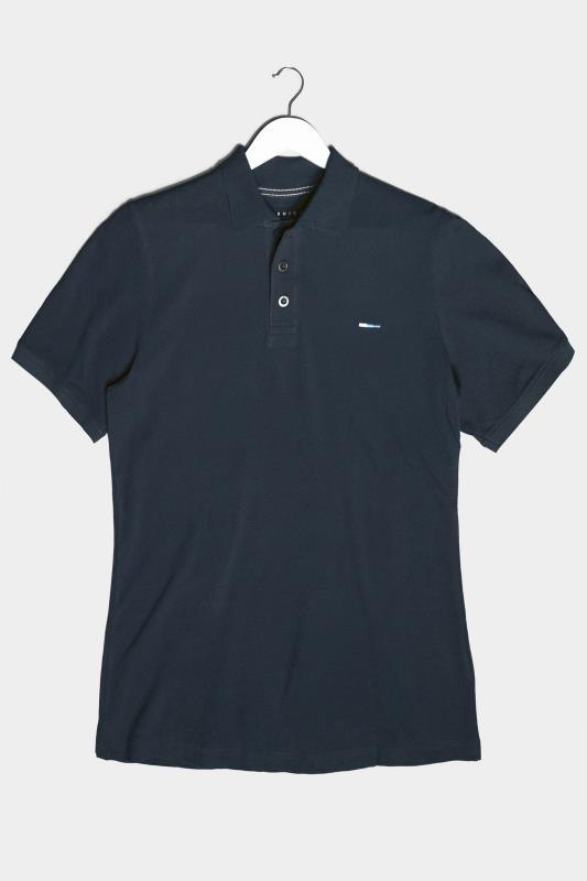 Men's  BadRhino Navy Essential Polo Shirt
