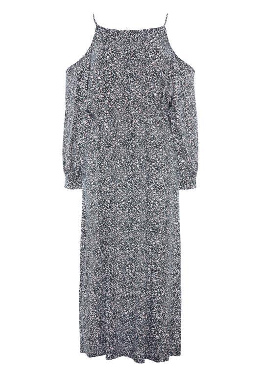 Black Floral Cold Shoulder Maxi Dress_F.jpg