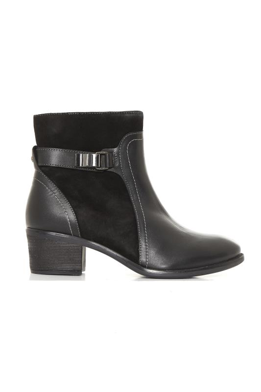 Hush Puppies Black Fondly Nellie Ankle Boot