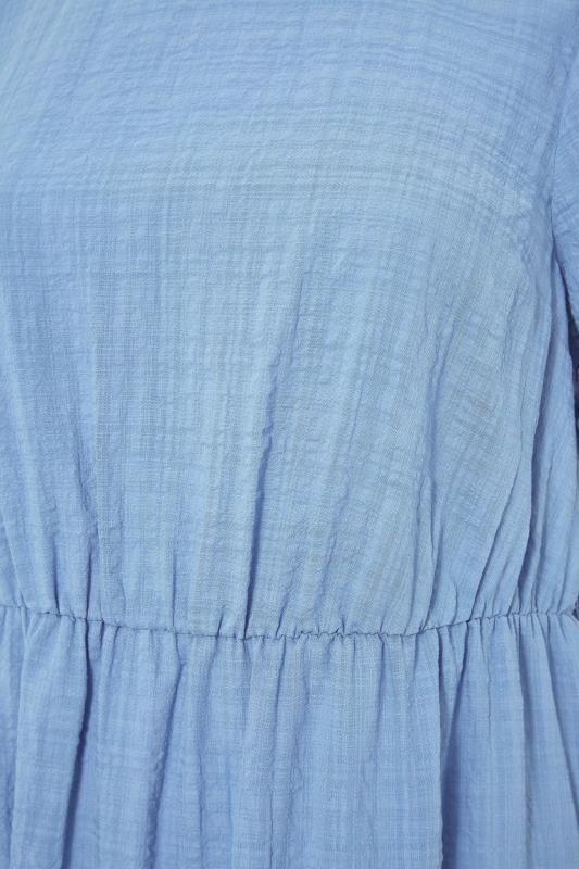 THE LIMITED EDIT Blue Smock Midi Dress_S.jpg
