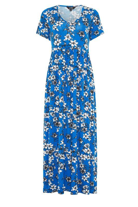 LTS Blue Floral Print Midi Dress_F.jpg