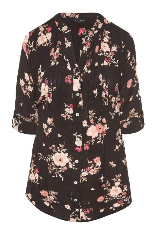 Black Floral Pintuck Shirt_F.jpg