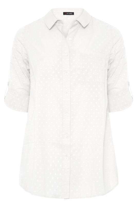 White Dobby Boyfriend Shirt_F.jpg