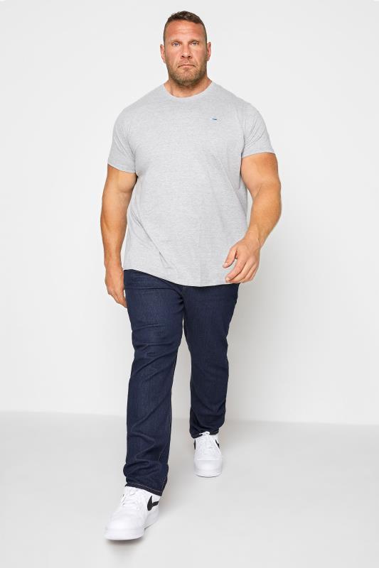 Großen Größen Straight KAM Indigo Regular Fit Stretch Jeans