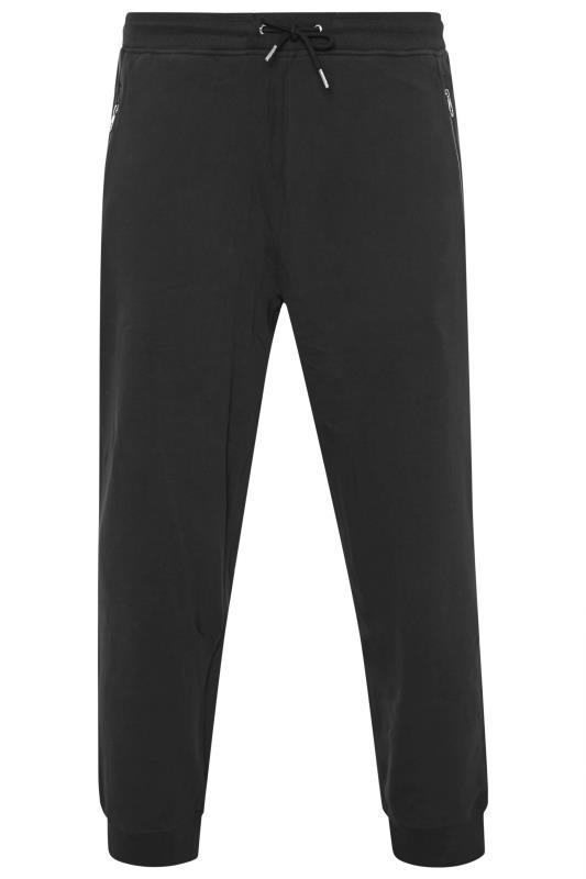 Plus Size  LUKE 1977 Black Sport Joggers