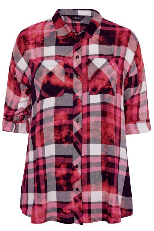 Pink Check Oversized Shirt_F.jpg