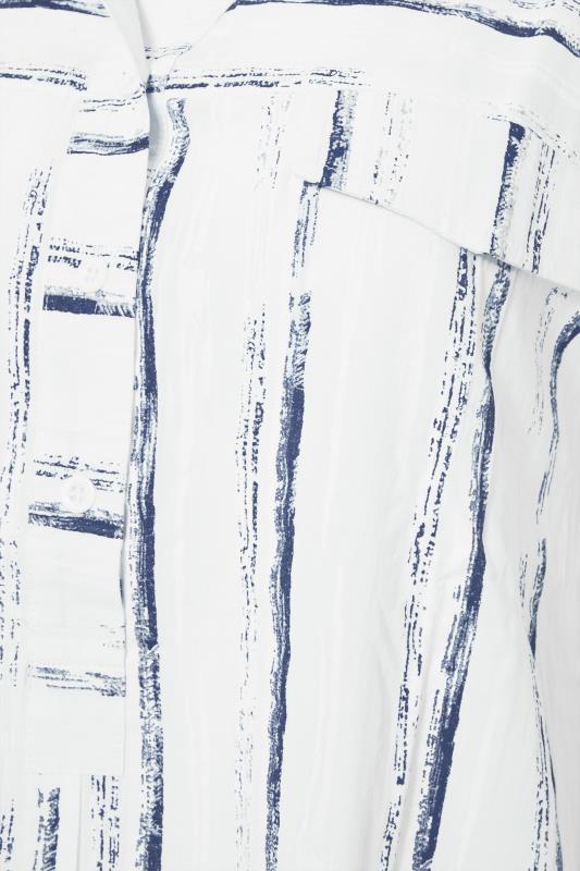 LTS White Dip Back Stripe Shirt_S.jpg