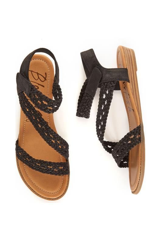 BLOWFISH Black Besille Sandals
