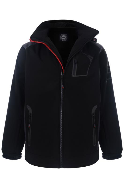 KAM Navy Padded Jacket
