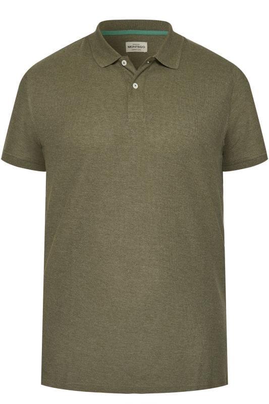 MONTEGO Khaki Polo Shirt