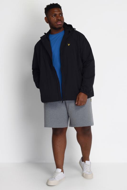 LYLE & SCOTT Black Zip Through Hooded Jacket