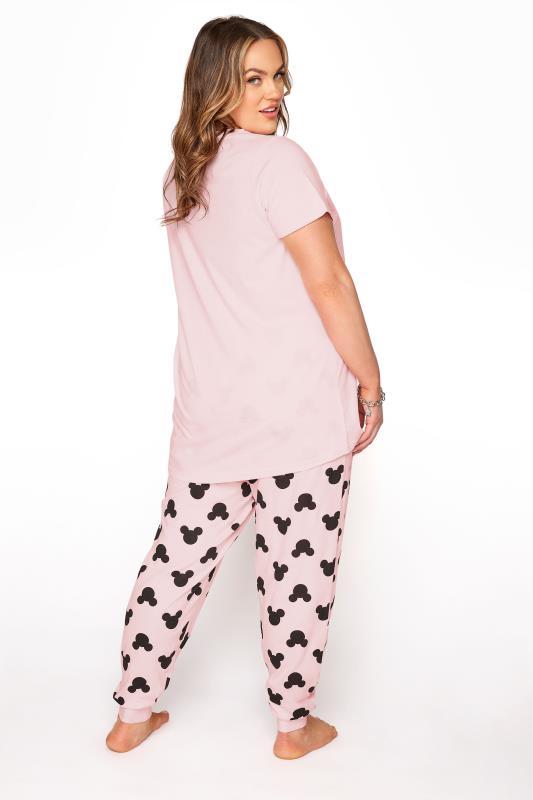 DISNEY Pink Mickey and Minnie Mouse Pyjama Set_C.jpg