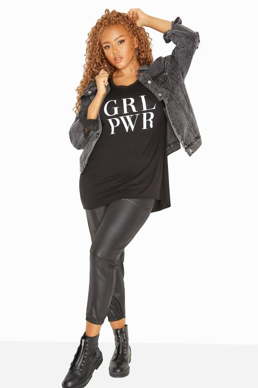 LIMITED COLLECTION Black Girl Power Slogan T-Shirt