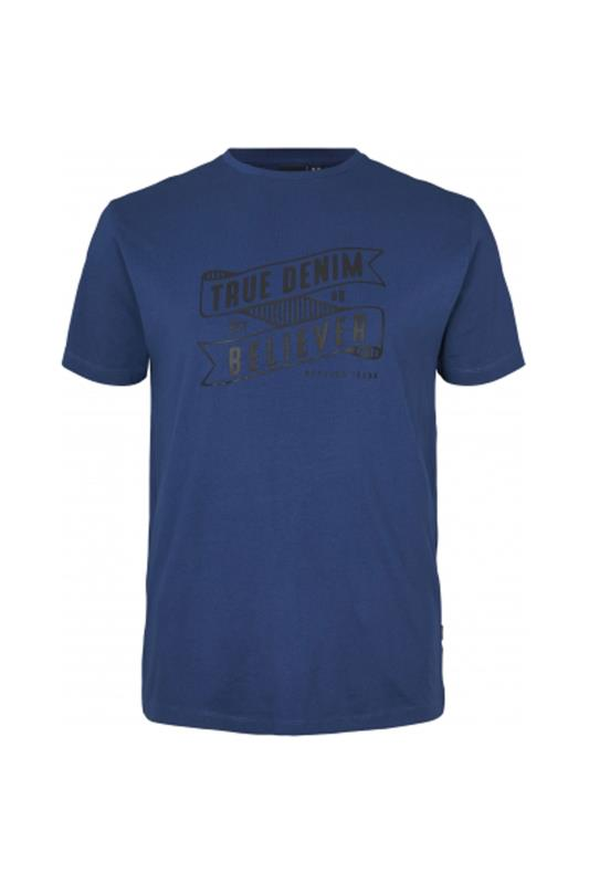 Plus Size  REPLIKA Blue True Denim T-Shirt