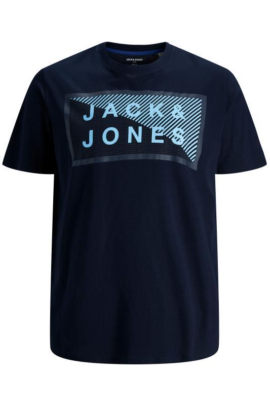 JACK & JONES Navy Shawn T-Shirt
