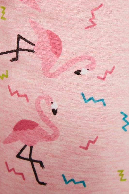 Pink Flamingo Printed Cropped Pyjama Set_S.jpg