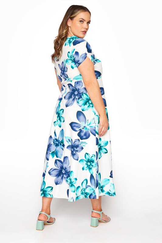 LIMITED COLLECTION White Floral Midi Dress_C.jpg