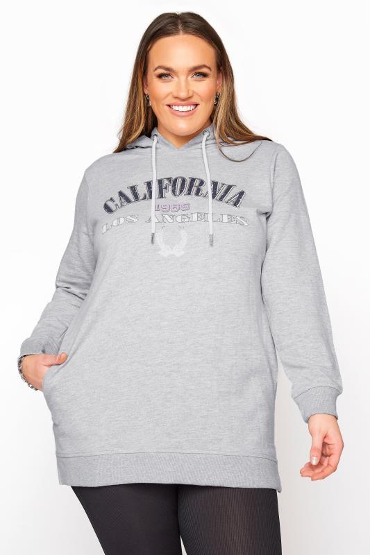 Grey California Slogan Longline Hoodie_B.jpg