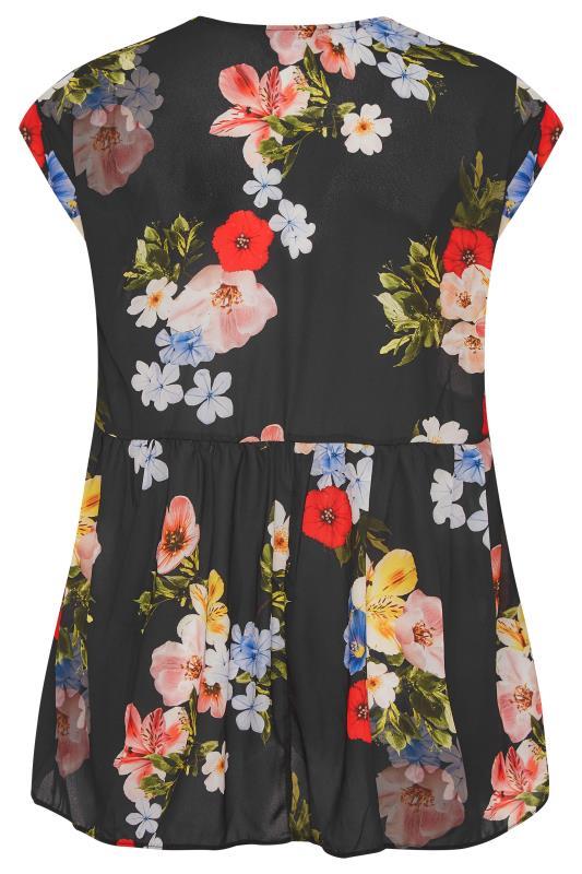 Black Floral Peplum Tunic Blouse_BK.jpg
