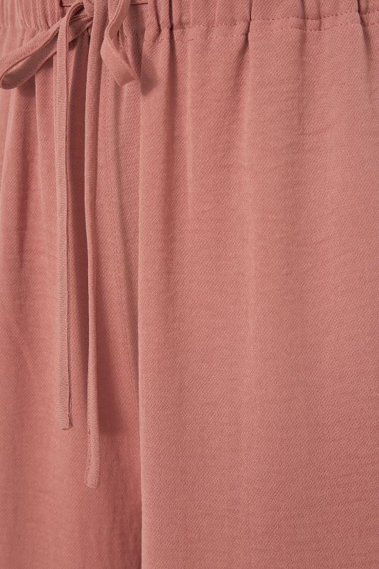 LTS Pink Wide Leg Twill Trousers_S.jpg