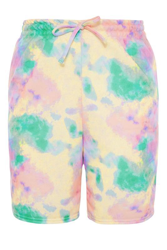 Multi Tie Dye Sweat Shorts_f.jpg