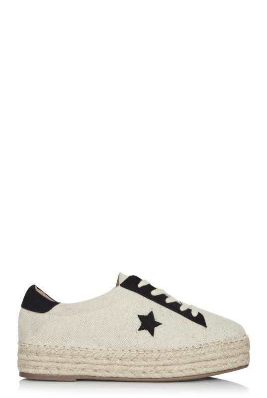 Tall Lace Ups Stone Star Lace Up Espadrilles