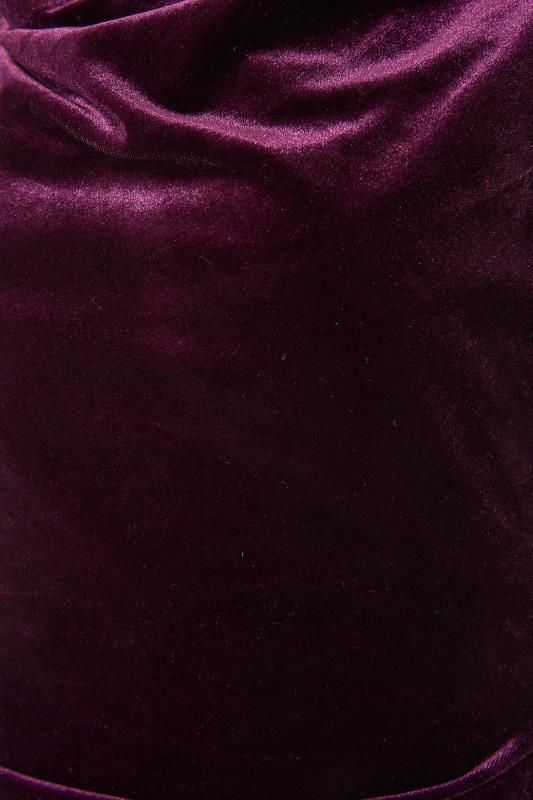 LTS Purple Cowl Neck Velvet Dress_S.jpg