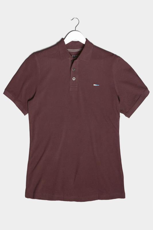 BadRhino Burgundy Essential Polo Shirt_F.jpg