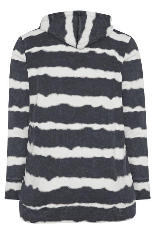 Black Stripe Zip Through Hoodie_BK.jpg
