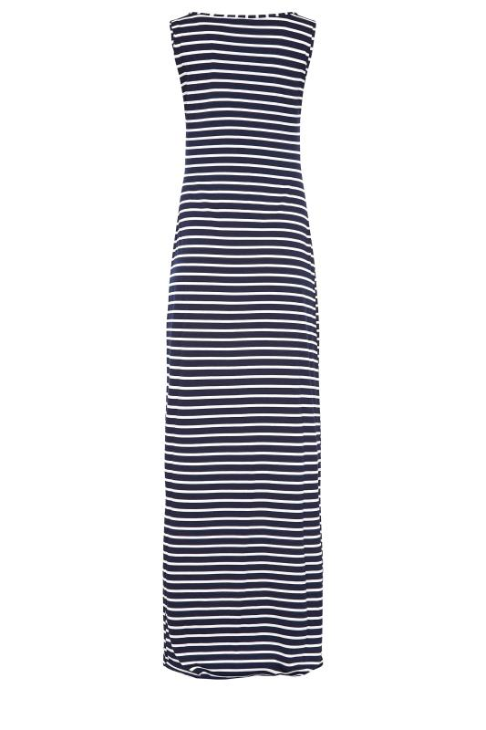 LTS Navy Stripe Sleeveless Maxi Dress_BK.jpg