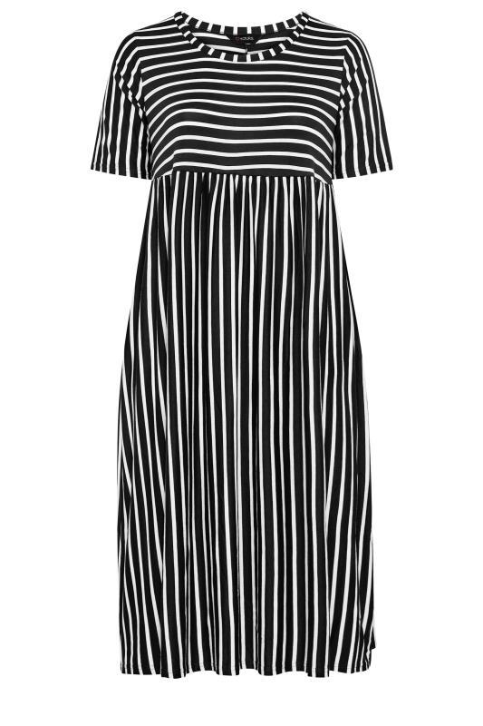 Black Stripe Midi Dress_F.jpg