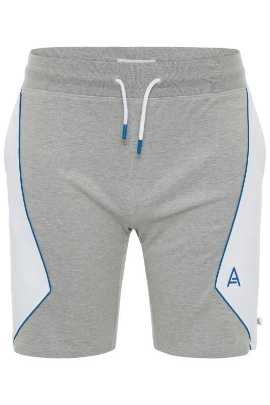Plus Size  STUDIO A Grey Jogger Shorts