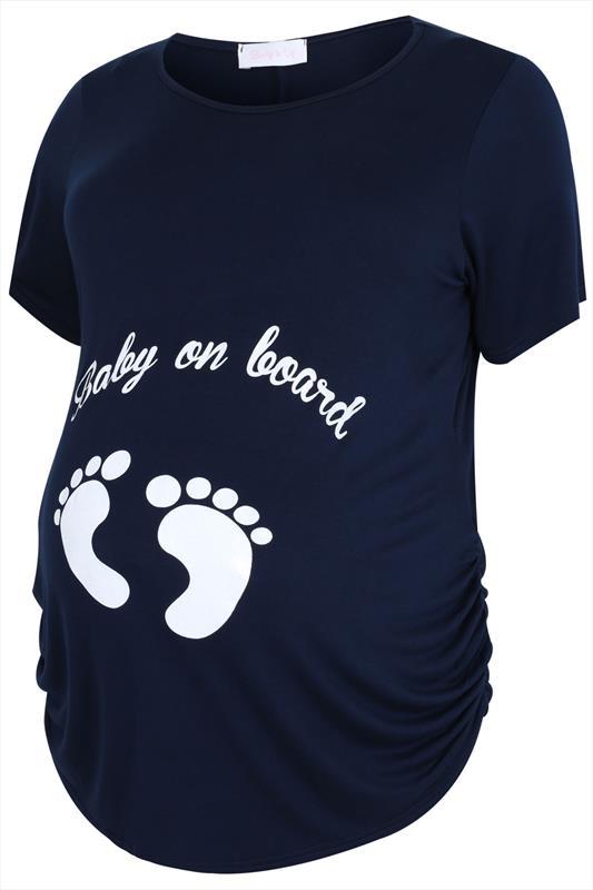 BUMP IT UP MATERNITY Navy Glittery 'Baby On Board' Top_d5eba684-fc4b-48ad-8e93-bfc567c3baa0.jpg