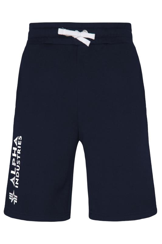 ALPHA INDUSTRIES Blue A1 Shorts_F.jpg