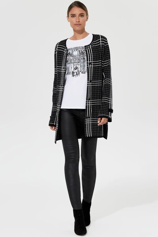 Tall Cardigans & Shrugs Karl Lagerfeld Paris Double Knit Cardigan Jacket