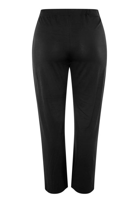 LIMITED COLLECTION Black Pleated Wide Leg Trousers_BK.jpg