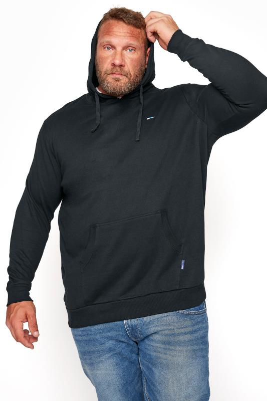 Men's  BadRhino Black Essential Hoodie