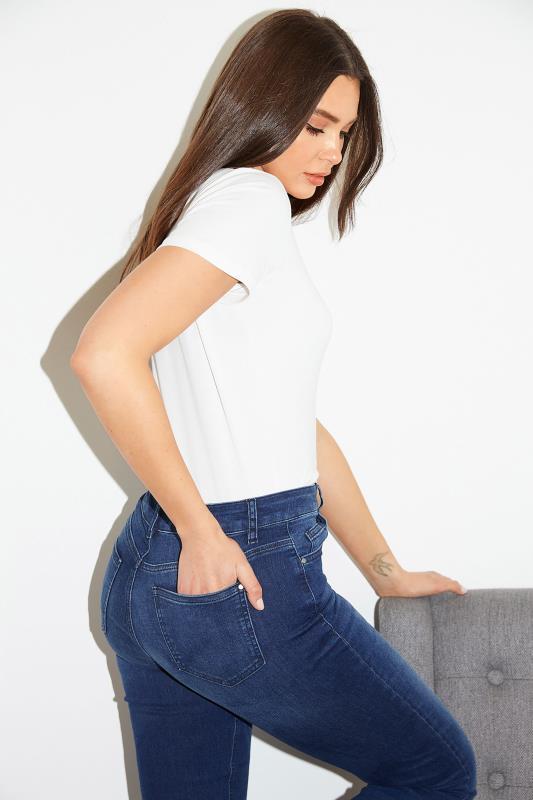 Deep Indigo Blue Ultra Stretch Bootcut Jeans_L.jpg