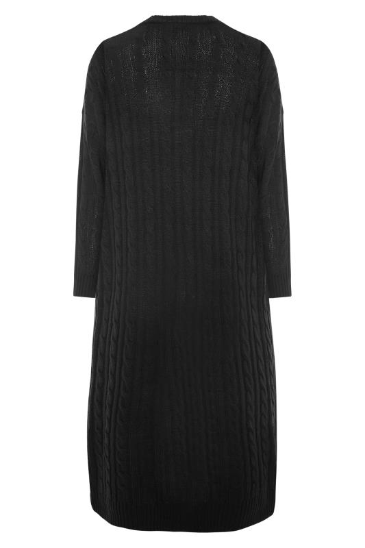 Black Cable Knitted Maxi Cardigan_BK.jpg